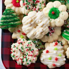Almond Spritz Cookies Recipe